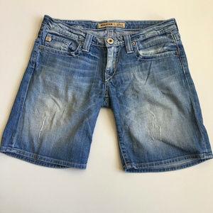 Big Star Sweet Ultra Low Rise Bermuda Shorts
